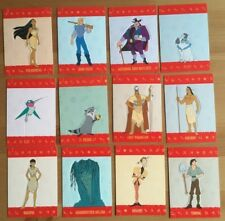 SKYBOX 1995 WALT DISNEY'S POCAHONTAS POP-OUT TRADING CARDS - COMPLETE SET #1-12