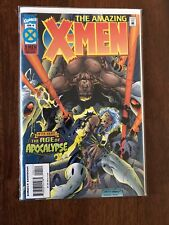 The Amazing X-Men #4 Age of Apocalypse June 1995 Marvel FREE bag/board