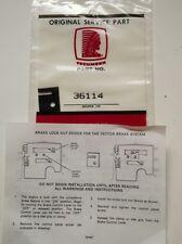 Tecumseh 36114 Frein Verrouillage Dispositif Pour Vecteur de systèmes de freinage
