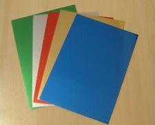 15 SHEETS OF A6 METALLIC CARD IN 5 COLOURS - 3 OF EACH
