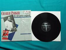 "Charlie Parker Cole Porter Songbook 12"" LP Album Verve # 8232501 Shrink import"
