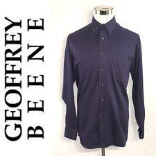 GEOFFREY BEENE Men's Wrenkle Free Dress Shirt Size L 16 34-35 Long Sleeves