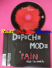 CD singolo Depeche Mode A Pain That I'm Used To  int.CDBONG36 2005 no mc lp(S20)