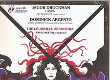 JACOB DRUCKMAN Lamia/DOMINICK ARGENTO Royal Invitation~LP~Louisville Orch/MESTER