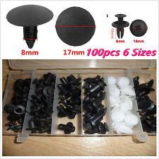 100Pcs Clip Automotive Push Pin Retainer Assortment Kit For Toyota Honda GM Ford