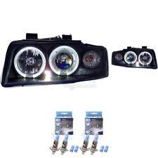 Scheinwerfer Set für Audi A4 B6 8E Bj. 00-04 Limo/Avant Angel Eyes klar/schwarz