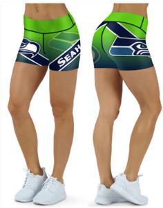 Seattle Seahawks Small to 2XL Women's Shorts