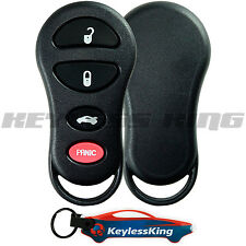 Replacement Remote Key Fob Shell Pad Case for 2002 2003 2004 Jeep Liberty