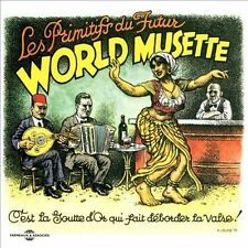 LES PRIMITIFS DU FUTUR - WORLD MUSETTE USED - VERY GOOD CD