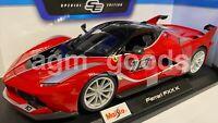 Maisto 1:18 Scale - Ferrari FXX K - Red - Diecast Model Car