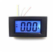 Digital Ammeter DC0~+/- 10A LCD Amp Panel Guage Positive Negative Current Tester