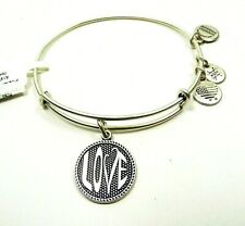ALEX and ANI  Rafaelian Silver Love Bracelet with Charms