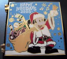 Disney Pin: WDW Happy Holidays 2005 Greeting Card All Star Resorts