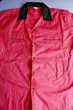 Two Cruising USA Bowling Shirts. Black is NWT, Pink NWOT. Pink Ladies XL