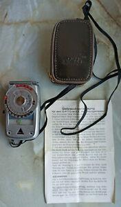 Optomax Belichtungsmesser in Schutztasche und mit Anleitung