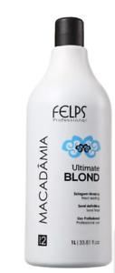 160€/1L Felps Macadamia Progressive Ultimate Blonde 1000 ml Haarglättung