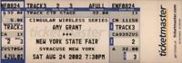 AMY GRANT 2002 TOUR NEW YORK STATE FAIR UNUSED SYRACUSE CONCERT TICKET NM 2 MINT