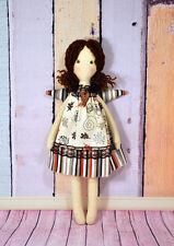 Handmade Angel, Textile Doll, Tilda Doll , Tilda Angel, Angel