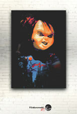 "Child's Play - CANVAS - 16""x12"" [ print poster Good Guy doll horror Chucky"
