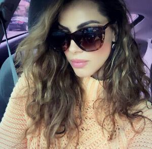 "CAT EYE Women Sunglasses XXL OVERSIZED ""KIRA"" Aviator Square Shadz GAFAS Fashion"