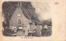 Ayr Ayrshire Scotland Uk Old Alloway Kirk~Caledonia Series #1135 Postcard