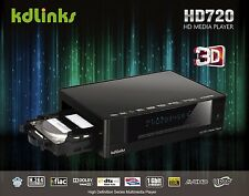 KDLINKS HD720 Realtek 1186 3D 1080P WIFI HD TV Media Player BLURAY ISO GIGABIT