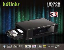 KDLINKS HD720 Realtek 1186 3D 1080P WIFI HD TV Media Player BLURAY ISO GIGABIT