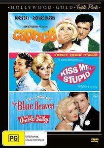 Caprice / Kiss Me, Stupid / My Blue Heaven (DVD, 2012, 3-Disc Set) - Region 4