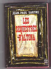 J'an-Paul SARTRE - Les séquestrés d'Altona - poche  1971