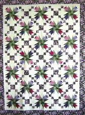 Twirling Tulips Quilt Pattern by Quilting With Roxanne