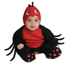 Infant Spider Costume Halloween Baby Newborn Outfit Itsy Bitsy Kids Child NEW