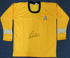 WILLIAM SHATNER AUTHENTIC AUTOGRAPHED SIGNED STAR TREK UNIFORM SHIRT JSA 159208