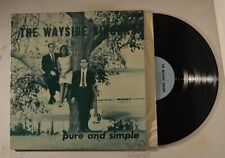the wayside singers lp pure and simple      vg+/m-