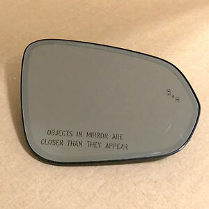 OEM Lexus RX350 NX200t NX300 RX450h RIGHT Auto Dim Mirror Glass Blind Spot Alert