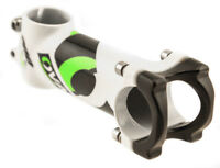 "Oval Concepts M200 110mm 1-1/8"" Threadless Bike Stem 31.8mm Alloy White NEW"