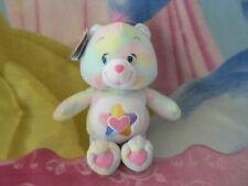 "10"" Plush Green Wish Star Rainbow Care Bear Baby Boy Girl Collectible 1980s Toy"