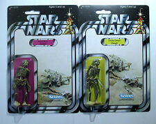 Custom Vintage style  Star wars Figure - Dead uncle Owen and aunt Beru charcoal