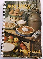 Roseville MI Trinity United Methodist Church Community Cookbook