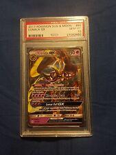 PSA 10 GEM MINT Lunala GX 66/149 - Pokemon SM Sun & Moon Ultra Rare Card