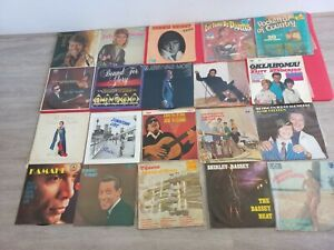 Bulk Lot 20 Vinyl LP Records: Jerry Vale, Johnny Mathis and More