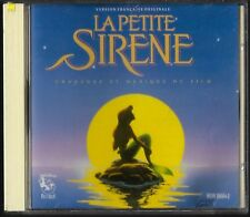 La Petite Sirene-Disney-The Little Mermaid OST CD French Language Import Version