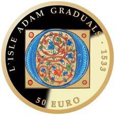 Malta - 50 Euro 2020 - Europa Stern Serie - Gotik - 6,5 gr Gold PP
