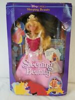 Disney Classics PRINCESS SLEEPING BEAUTY 1991 dolls eyes close with water dress