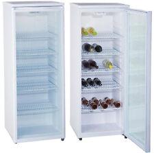 PKM GKS255 Stand Getränkekühlschrank Glasfront weiß 143x55cm