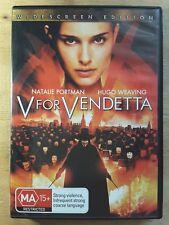 V for Vendetta DVD - R4 - Natalie Portman - Hugo Weaving