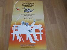 I'm Not RAPPAPORT   inc Paul Scofield & Rollins APOLLO Theatre Original Poster
