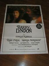 MANIFESTO,BARRY LYNDON,Stanley Kubrick Ryan O'Neal