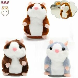 Talk Hampster Speak Record Voice Talking Hamster Plush Funny Cheeky Gift Hot