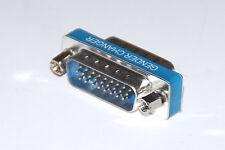 Gender Changer  M/M Stecker / Stecker  26 polig HD male / male  SUB-D Adapter