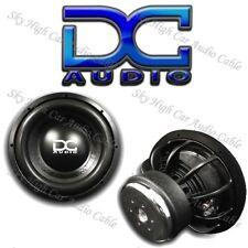 """DC AUDIO Level 2 12"""" 4 ohm Dual Voice Coil Subwoofer BLACK 600/1200 Watt NEW"""